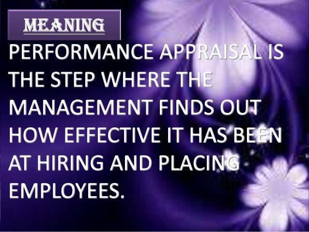 ACC. To EMPLOYEES ORGANIZATION •CONCENTRATE & TANGIBLE PARTIC -ULARS ABOUT THERE WORK. • ASSESSMENT OF PERFORMANCE. •MEASU...