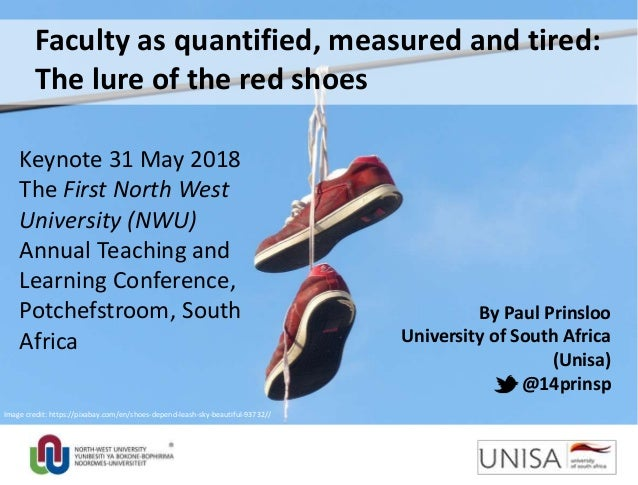 By Paul Prinsloo University of South Africa (Unisa) @14prinsp Image credit: https://pixabay.com/en/shoes-depend-leash-sky-...