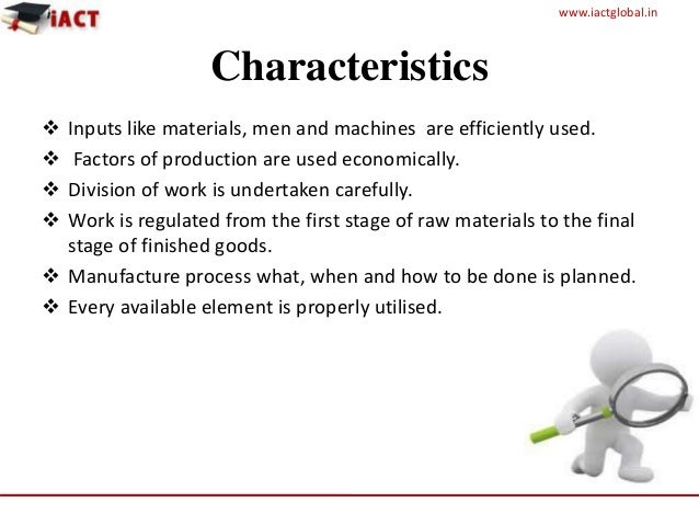 Final production planning and control (1) Slide 3