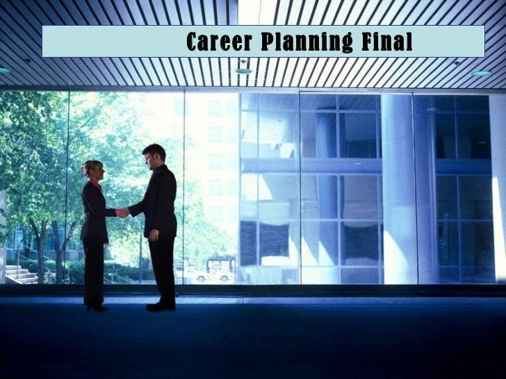 Career Planning Final
