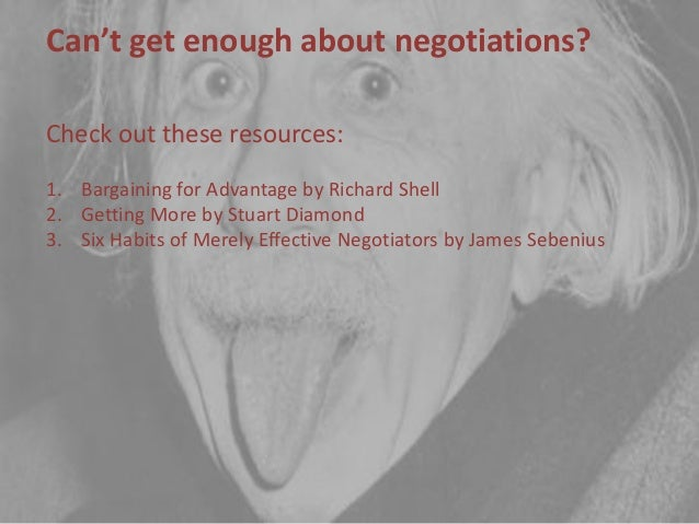 """six habits of merely effective negotiators Info@cefnecom home cefne experience training  sebenius james """"six habits of merely effective negotiators"""" harvard business review 2002."""