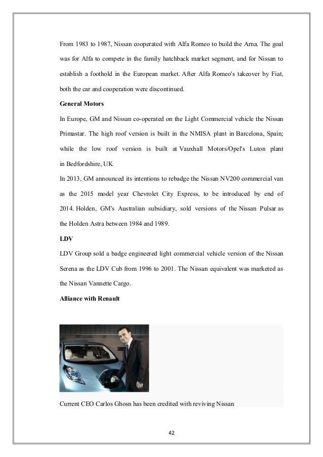 e4b98eafd8f4 CUSTOMER SATISFACTION SURVEY OF NISSAN CARS IN AURANGABAD.