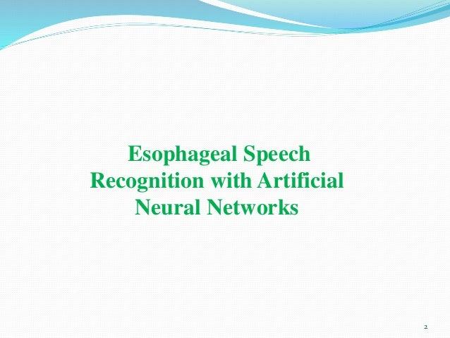 speech identification using neural networks thesis Speech identification using neural networks thesis staff vienna.