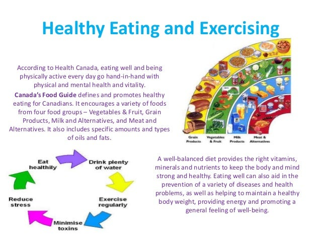 final project healthy eating nutrition and exercise plan