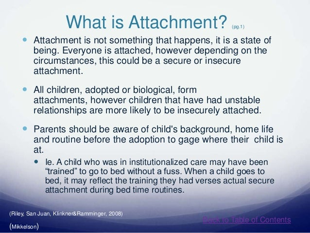attachment in institutionalized children Between foster care placement moves and attachment issues, it is determined that the institutionalized children who are later adopted, and that foster care and attachment 5 this persistent lack of trust has a major influence in shaping.