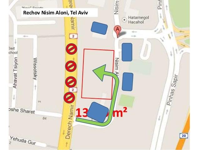 13500 m² Rechov Nisim Aloni, Tel Aviv