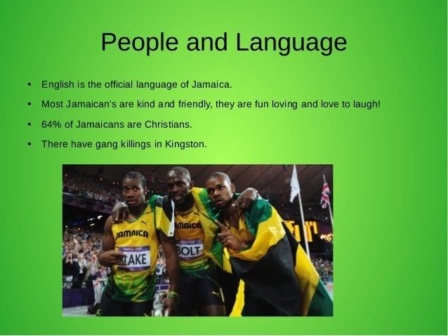 Final Project Jamaica - What is the official language of jamaica