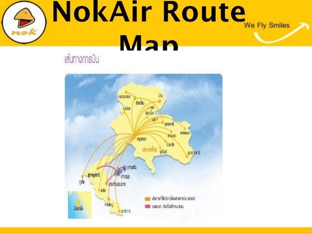 NokAir RouteMap