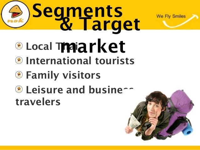 SegmentsLocal ThaiInternational touristsFamily visitorsLeisure and businesstravelers& Targetmarket
