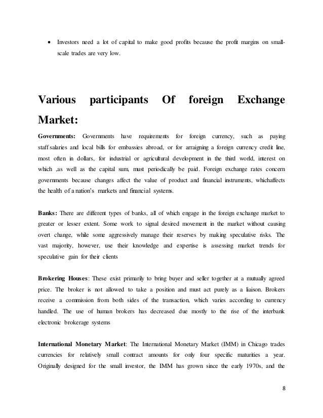 foreign exchange risk management strategies
