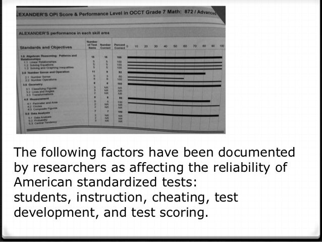an analysis of the effects of cheating on tests Based on my findings and answering the question, what are the effects of standardized testing on the  of tests cause a rise in cheating,  analysis cleaning.