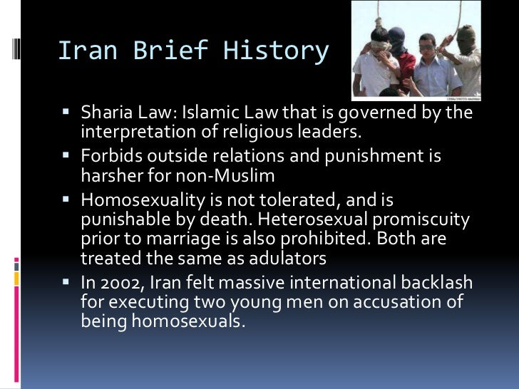 Islamic laws against homosexuality