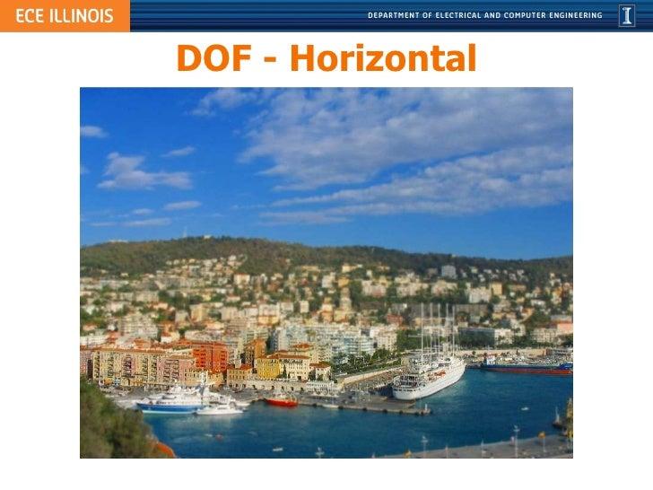 DOF - Horizontal