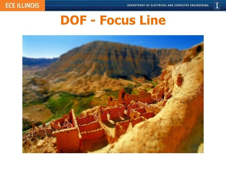 DOF - Focus Line
