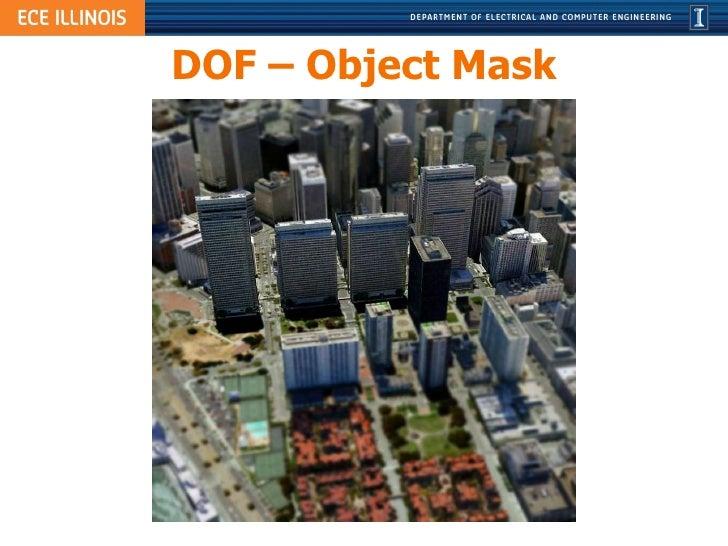 DOF – Object Mask