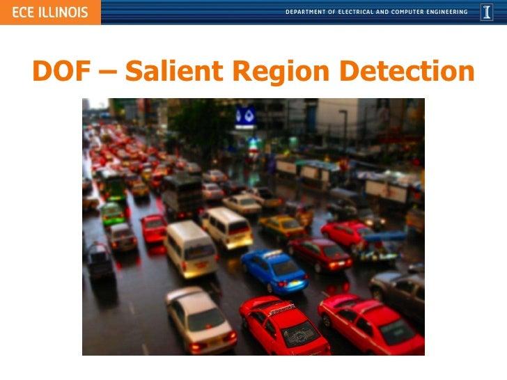 DOF – Salient Region Detection