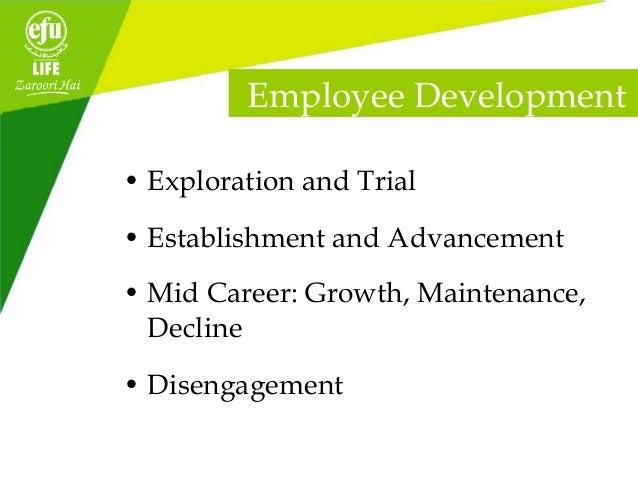 Employee satisfaction in efu life insurance