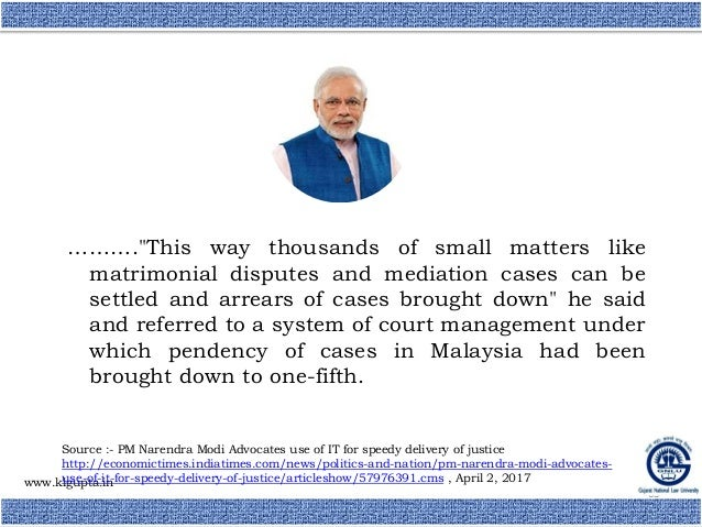 Induction Of National Court Management Authority In Indian