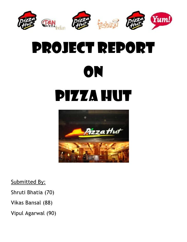 operations management pizza hut standards project report Pizza hut offers more than two billion different topping combinations which includes fresh vegetables and lean meats meeting the usda's national school lunch program and all foods sold in schools nutrition standards, pizza hut offers kid-approved pizzas made of 51 percent whole wheat crust, lite.