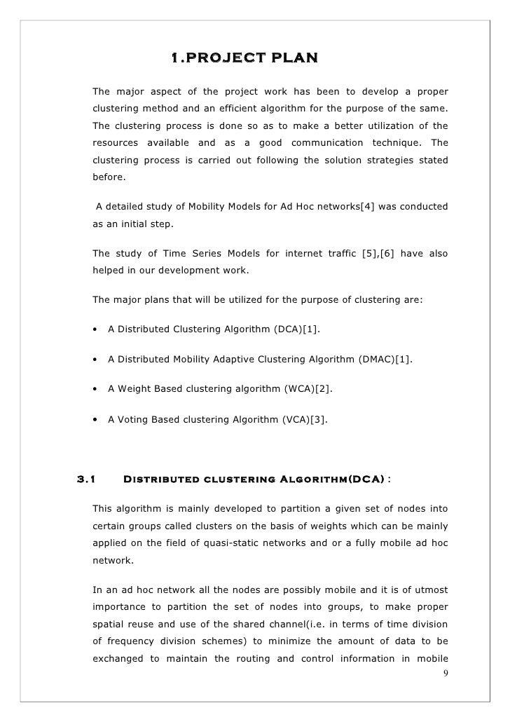 work reporting format