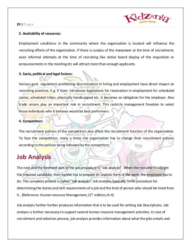 project report on hr operations and talent managementVacature Interim Hr Manager.htm #6