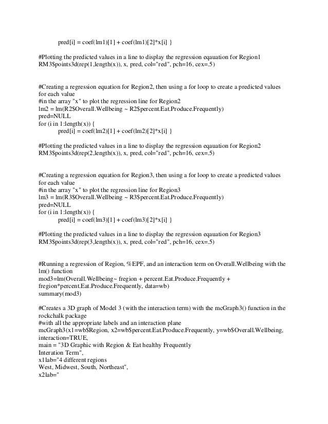 3D Scatterplot - R programming