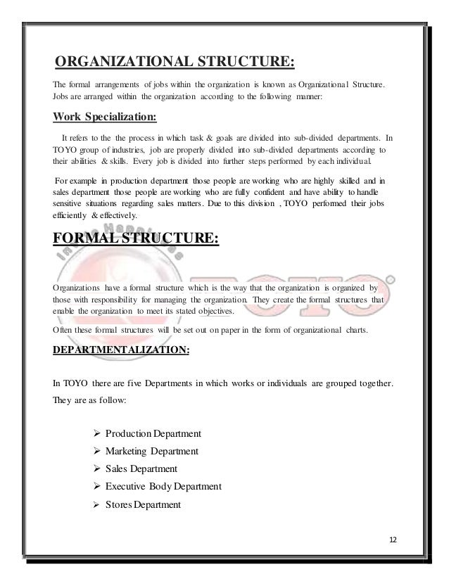 job specialization is known to