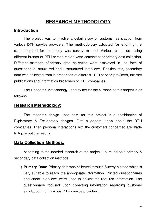 research paper on dth services in india