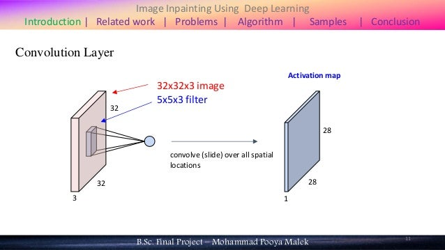 Image Inpainting Using Deep Learning