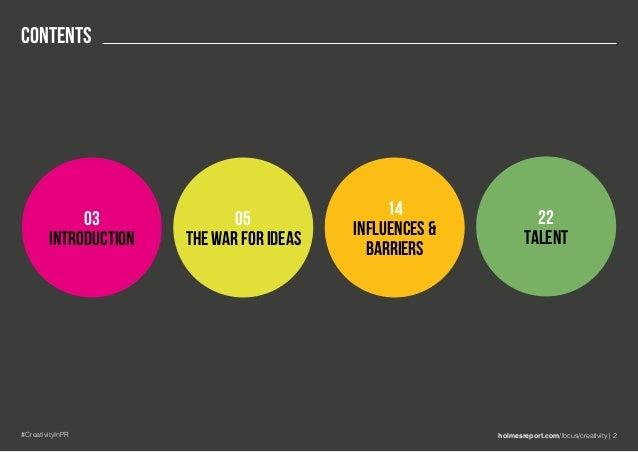 Creativity in PR 2017 Slide 2