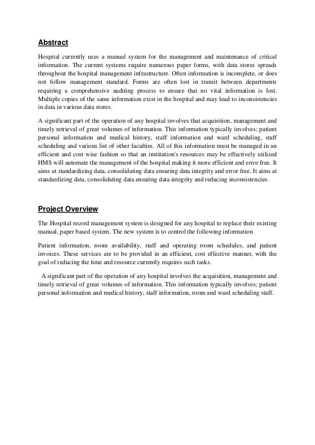 thesis on quality management system