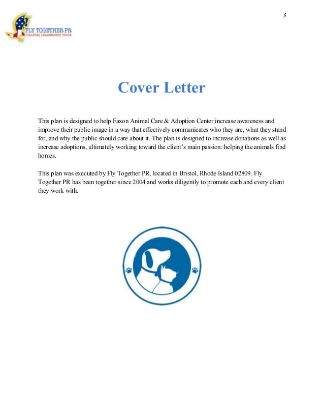 animal care cover letters