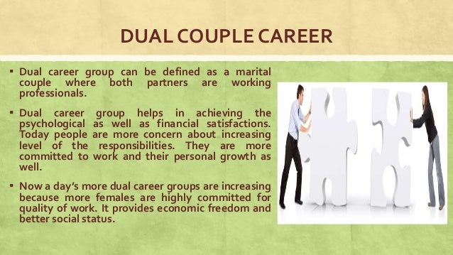dual career couples pdf