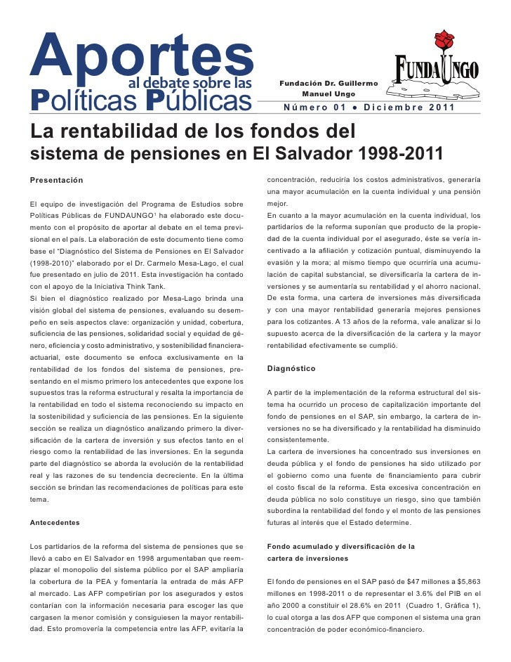 Aportes                        al debate sobre lasPolíticas Públicas                                                      ...