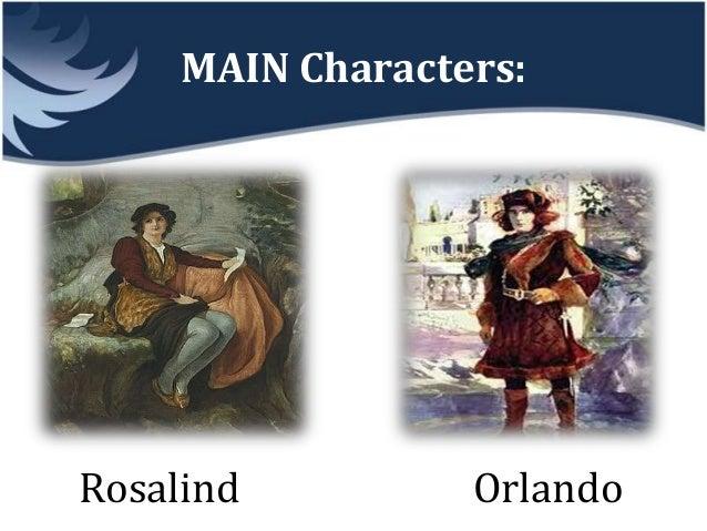 orlando as you like it character analysis