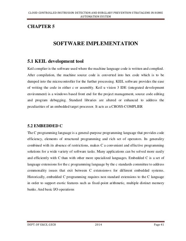 Cloud Controlled Intrusion Detection & Burglary Prevention Stratagem…