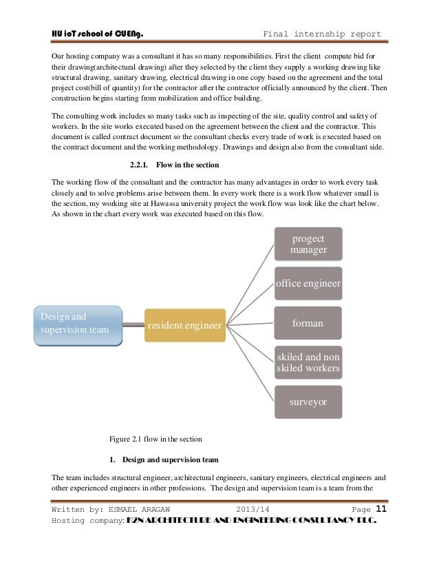 Logistics internship report - Essay Example