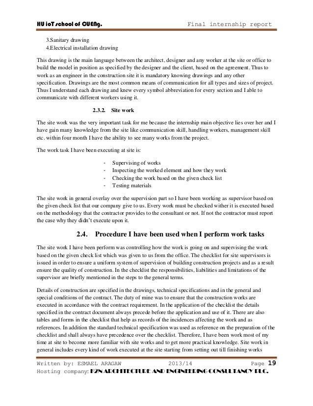 Internship report on building construction structural drawing 26 altavistaventures Gallery