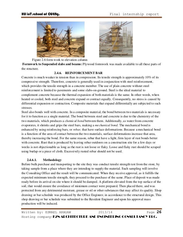 Report On Building Construction
