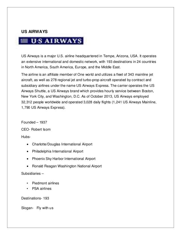 Project Report on the Indian Airlines: Kingfisher and Jet Airways