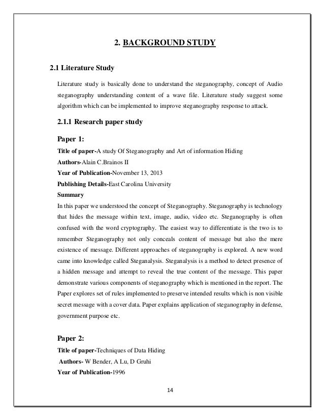 steganography research papers 2015 IEEE PAPER