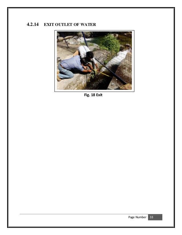 small hydro power plant pdf