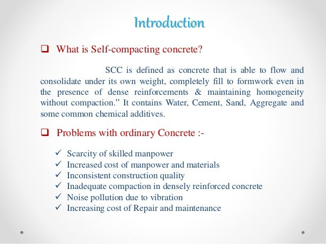 Self-consolidating definition