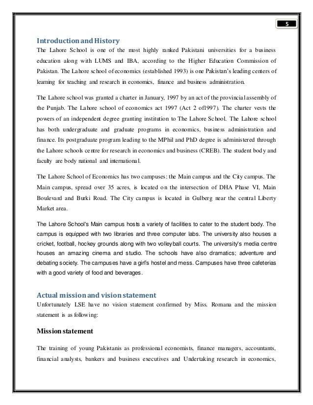 teacher evaluation form lums  Final report
