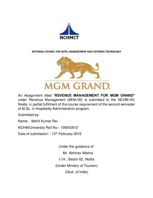 mgm mirage case study Mgm resorts international made its reputation, quite simply, by being the best  realizing that engaged and  download case study we wanted managers to.