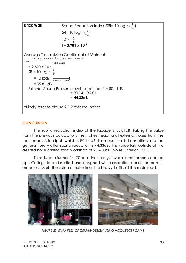 Report And Calculation