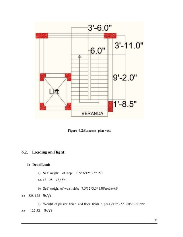 Analysis and Design of Structural Components of a Ten
