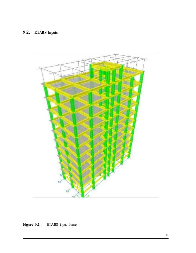 Design Of Residential Building Using Etabs