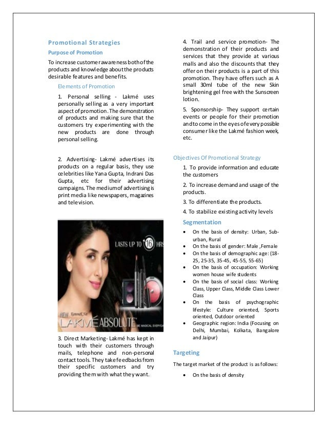 promotion of lakme products To identify some of the worst product flops of all time, 24/7 wall st reviewed products introduced after 1950 by america's largest companies to make the list, the company needed to make the fortune 500 the year the product was released.