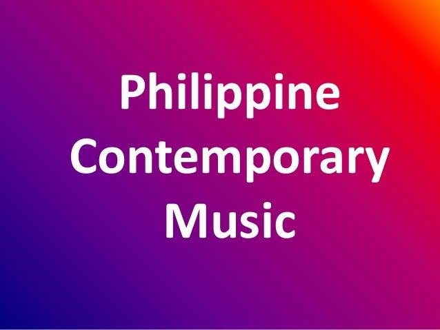 Philippine Contemporary Music